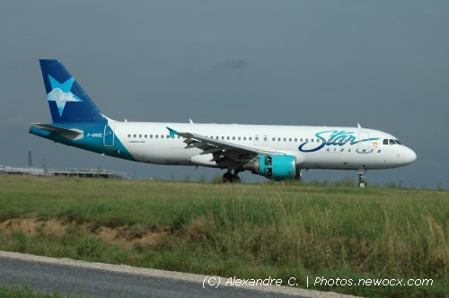 Photo avion F-GRSE : Airbus A320 de la compagie Star Airlines (Paris Charles de Gaulle (LFPG))