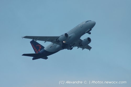Photo avion OO-SSG : Airbus A319 de la compagie SN Brussels Airlines (Geneva Geneve-Cointrin (LSGG))