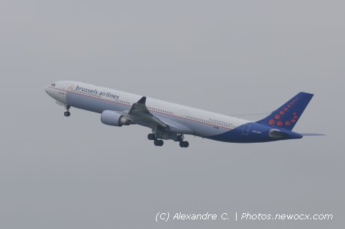 Photo avion OO-SFN : Airbus A330 de la compagie SN Brussels Airlines (Bruxelles (EBBR))
