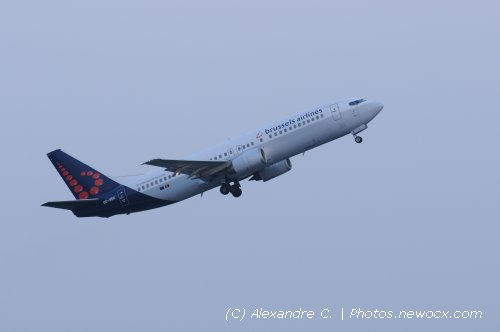Photo avion OO-VEK : Boeing 737 de la compagie SN Brussels Airlines (Bruxelles (EBBR))