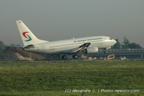 Photo avion 6V-AHO : Boeing 737 Next Gen de la compagie Air Senegal International (Paris Orly (LFPO))