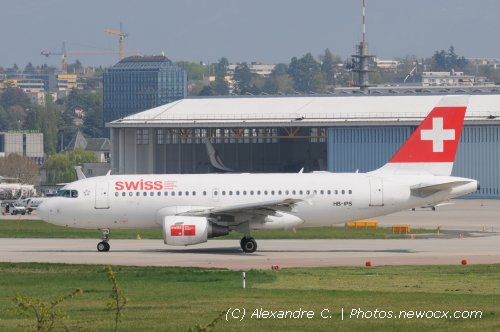Photo avion HB-IPS :  Airbus A319 de la compagie Swiss International Airlines (Geneva Geneve-Cointrin (LSGG))