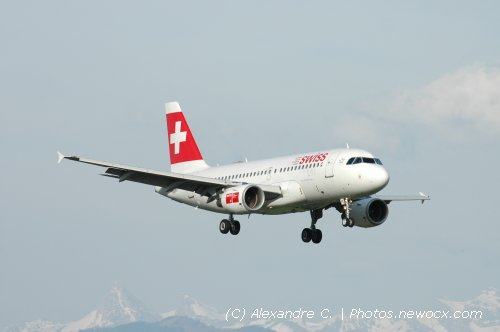 Photo avion HB-IPT : Airbus A319 de la compagie Swiss International Airlines (Geneva Geneve-Cointrin (LSGG))
