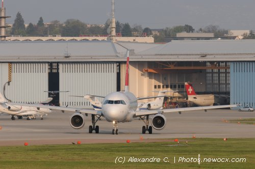 Photo avion HB-IPU : Airbus A319 de la compagie Swiss International Airlines (Geneva Geneve-Cointrin (LSGG))