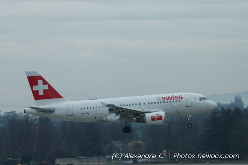 Photo avion HB-IPX : Airbus A319 de la compagie Swiss International Airlines (Geneva Geneve-Cointrin (LSGG))