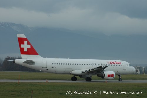 Photo avion HB-IJI : Airbus A320 de la compagie Swiss International Airlines (Geneva Geneve-Cointrin (LSGG))