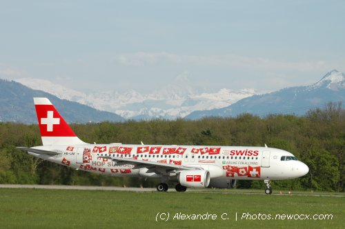 Photo avion HB-IJM : Airbus A320 de la compagie Swiss International Airlines (Geneva Geneve-Cointrin (LSGG))