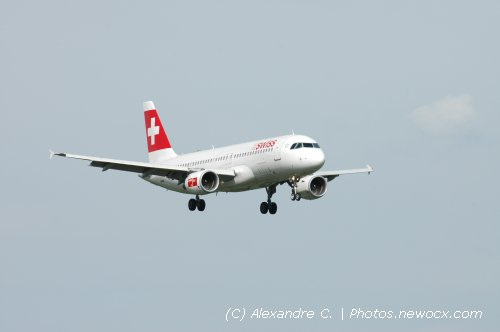 Photo avion HB-IJN : Airbus A320 de la compagie Swiss International Airlines (Geneva Geneve-Cointrin (LSGG))