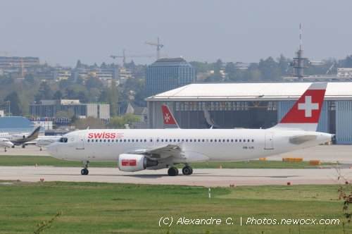 Photo avion HB-IJS : Airbus A320 de la compagie Swiss International Airlines (Geneva Geneve-Cointrin (LSGG))