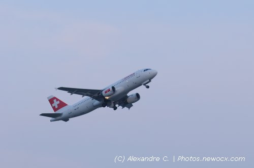 Photo avion HB-IJW : Airbus A320 de la compagie Swiss International Airlines (Bruxelles (EBBR))