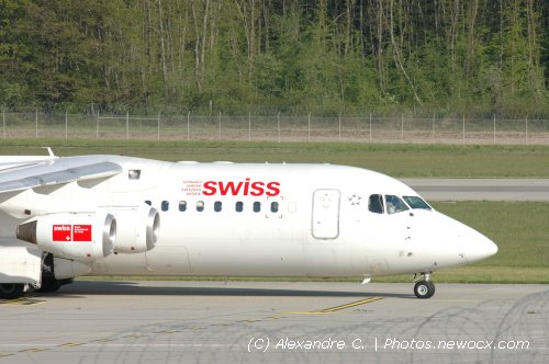 Photo avion HB-IXO : BAe 146  Avro RJ de la compagie Swiss