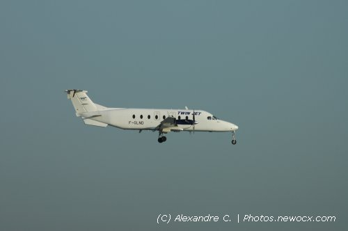 Photo avion F-GLND : BEECH 1900D de la compagie Twin Jet (Paris Orly (LFPO))
