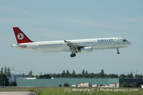 Photo avion TC-JMD : Airbus A321 de la compagie Turkish Airlines (Paris Orly (LFPO))
