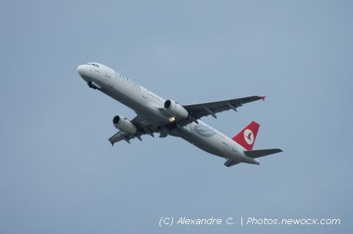 Photo avion TC-JRB : Airbus A321 de la compagie Turkish Airlines (Paris Orly (LFPO))