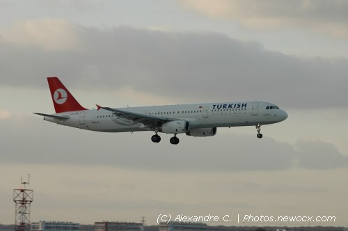 Photo avion TC-JRD : Airbus A321 de la compagie Turkish Airlines (Paris Orly (LFPO))