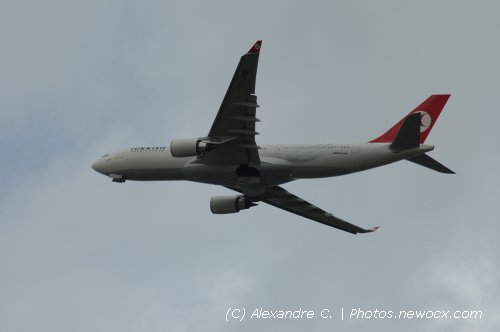 Photo avion TC-JNE : Airbus A330 de la compagie Turkish Airlines (Paris Orly (LFPO))