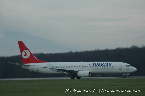Photo avion TC-JGL : Boeing 737 Next Gen de la compagie Turkish Airlines (Geneva Geneve-Cointrin (LSGG))