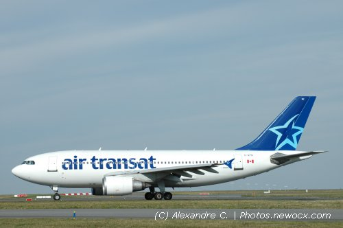 Photos de spotting des avions air transat tsc for Avion air transat interieur