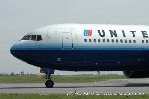 Photo avion N-649UA : Boeing 767 de la compagie United Airlines (Paris Charles de Gaulle (LFPG))
