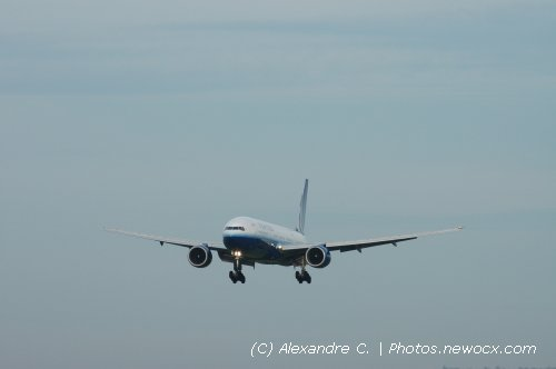 Photo avion N-777UA : Boeing 777 de la compagie United Airlines (Paris Charles de Gaulle (LFPG))
