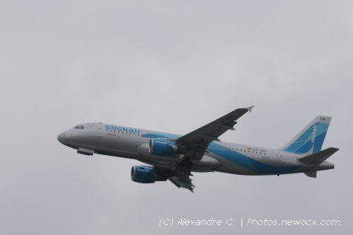 Photo avion EC-ICR : Airbus A320 de la compagie Clickair (Paris Orly (LFPO))