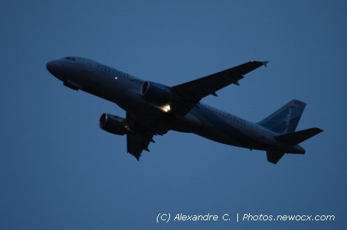 Photo avion EC-KCU : Airbus A320 de la compagie Clickair (Paris Orly (LFPO))